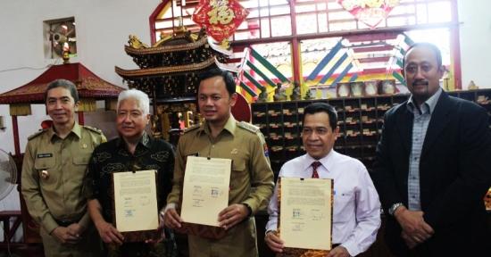 Tata Kota Bogor : Pemkot Bogor Bekerja Sama dengan Panorama Group dan PNJ Kembangkan Pulo Geulis
