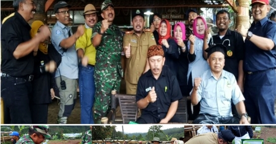 Dansektor 22 Satgas Citarum Harum Terapkan Pola Penthaheix, Genjot Hijaukan Lahan Kritis Kawasan Bandung utara