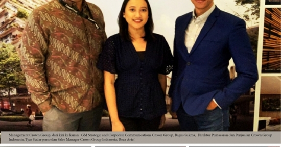 Proyek Hunian Terbaru Crown Group, Bidik Pasar Indonesia