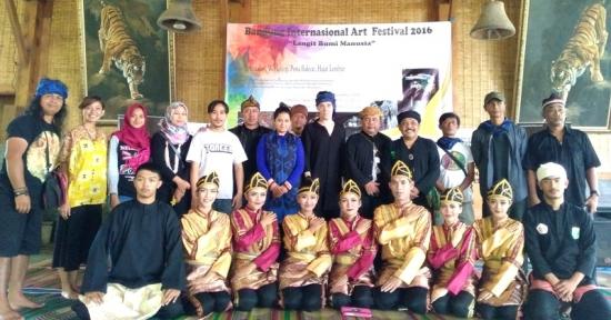 Bandung International Art Festival 2016 Berkumandang di Alam Santosa Pasir Impun Kab. Bandung