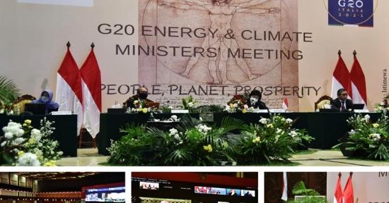 Menteri KLH Paparkan Pembangunan Kota Ramah Lingkungan untuk Kendalikan Perubahan Iklim pada Ministerial Meeting G20