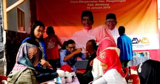 GWJ Jabar, Sukses Gelar Layanan Kesehatan Gratis di Margamekar Pangalengan Kab. Bandung