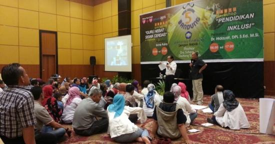 SMKN 5 Bandung Gelar Pendidikan Inklusi – Education for All Setara Bhineka Tunggal Ika