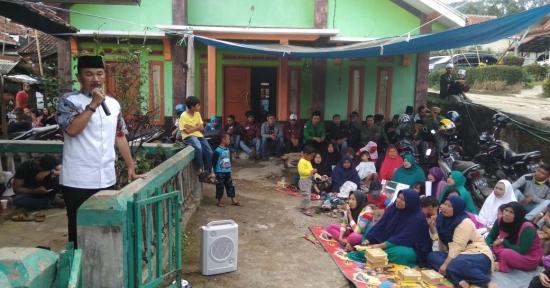 Maman Cawabup no.1 Mendapat Dukungan Warga Lembang
