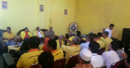 Eka Santosa di DPD Partai Berkarya Kab. Karawang - Berpartai demi Kemaslahatan Rakyat, Tiada Lain ...!