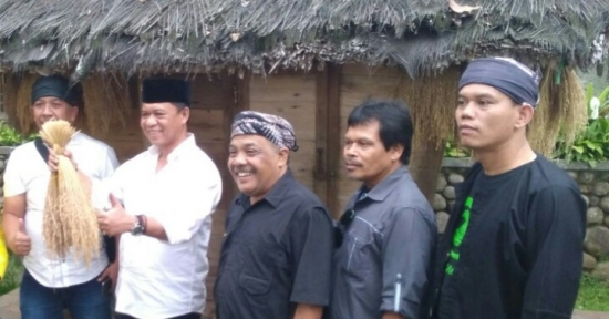 Eka Santosa Terima Cawagub Jabar Anton Charliyan - Bahas Kedalaman Adat & Masa Depan Jabar