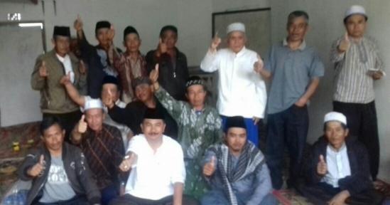 Maman Cawabup KBB no 1, Bersilaturahmi Dengan Para Ustadz