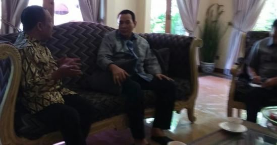 Temui Tommy Soeharto di Cendana, Eka Santosa Setelah ke Cirebon – Bahas Hasil Rapimnas III di Depok & Cianjur