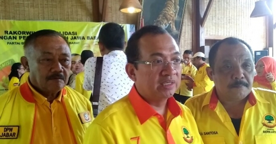 Priyo Budi Santoso & Yayat Sudrajat di Rakorwil DPW Partai Berkarya Jabar – Menangkan Pileg, Singkirkan Duri di Internal
