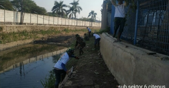 Ini Dia Progres Normalisasi Sungai Citepus oleh Satgas Citarum Harum SubSektor 06 – 21 Per 22 Juli 2019