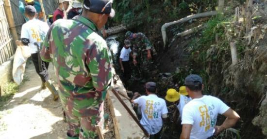 DanSubSektor 9 - 21 Ciparay Citarum Harum, Sungai Cirasea, Ciparay Kembali Dibersihkan