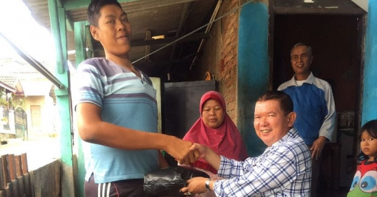 Manusia Tertinggi ada di Kabupaten Bandung Barat