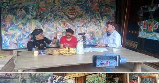Terkait Podcast 'EKATANYA', Perupa Umar Sumarta: 3 D, Pesta Demokrasi 2024 dan Seterusnya