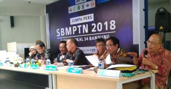 SBMPTN 2018 Akan Segera Digelar, Panlok 34 Bandung Siapkan 46.935 Kursi Peserta
