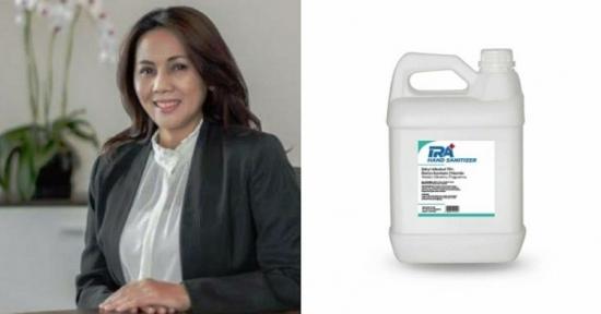 Irawati Hermawan Bersama Masyarakat Cinta Bogor  Meluncurkan Hand Sanitizer Harga Terjangkau Untuk Peduli Wabah Virus Corona