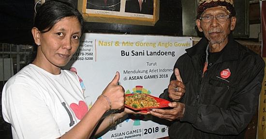 Mie & Nasi Goreng Legendaris Bu Sani - Landoeng