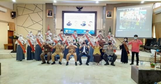 Wakil Bupati Kukuhkan FPSH HAM Kabupaten Sukabumi