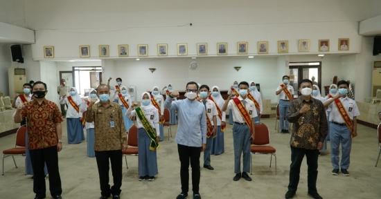 Wali Kota Bogor Kukuhkan Forum Pelajar Sadar Hukum dan HAM
