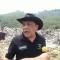 Eka Santosa Gerakan Hejo Kaget Lihat Gunungan Sampah di Sarimukti