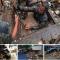 Anggota TNI Menyelam Angkut Sampah yang Menyumbat Saluran Air